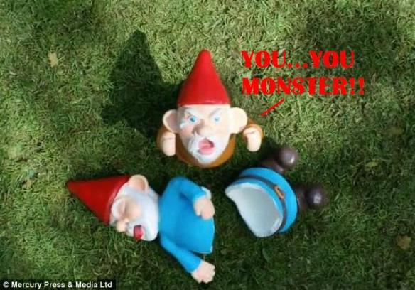 Bah!... Just a bunch of gnomes... Shoulda been Dwarves.