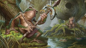 This Croak is not impressed with your Warjack son.