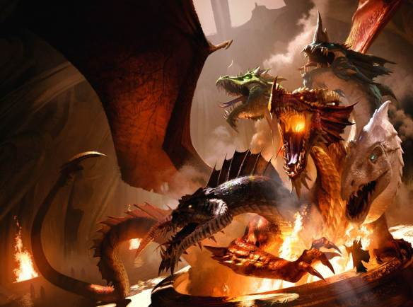 The full cover art for The Rise of Tiamat. Illustrated by Michael Kormarck