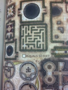 Tons of useful, and flavorful maps adorn the pages.