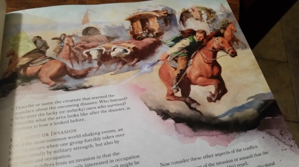 Wandslingin' horse chases anyone?