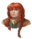 NPC 3: ELDETH FELDRUN - Shield Dwarf from Gaultlgrym. Heroic to a fault. Willing to sacrifice herself for the good of the group.