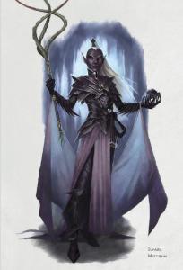 Ilvara - Drow Priestess of Lloth