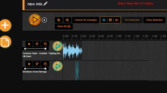 Mixer Demo